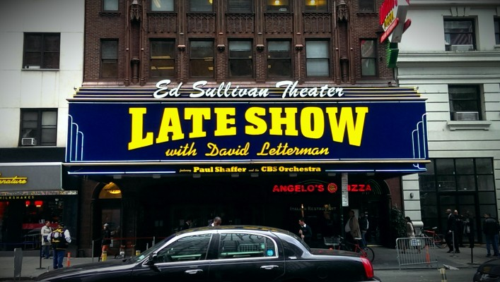 Late Show Sign