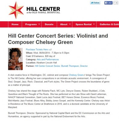 The Hill Center - June 4