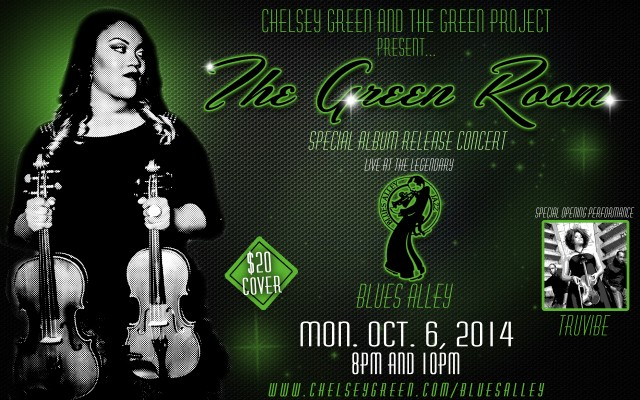 The Green Room - Album Release - Blues Alley